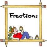 Fractions: exercices de mathématiques en quatrième (4ème)