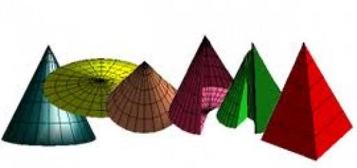 Pyramide et cône