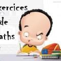 Exercices de mathématiques