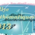 Sujets du rallye des mathématiques (RMT)