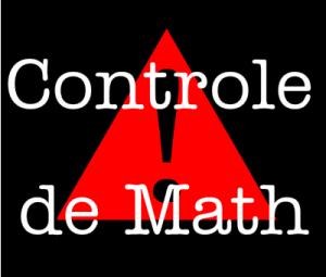 Contrôle et devoir surveillé de maths