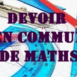 Devoir en commun de maths en seconde (2de)