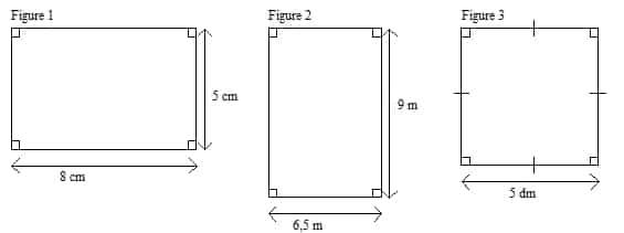Aire d'un rectangle