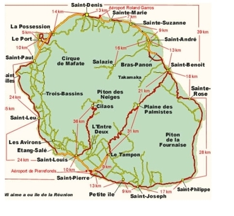 Carte géographique.