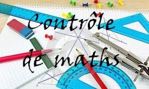 Contrôle de maths en terminale S n° 12