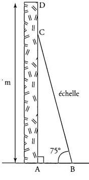 Echelle et trigonométrie.