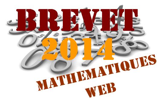 Brevet de maths 2014 en France