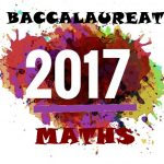 Bac de maths 2017