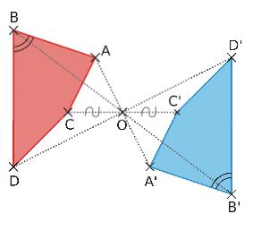 symétrique d'un polygone