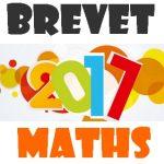 Brevet de Maths 2017