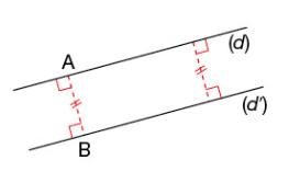 Distance entre deux droites