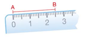Distance entre deux points