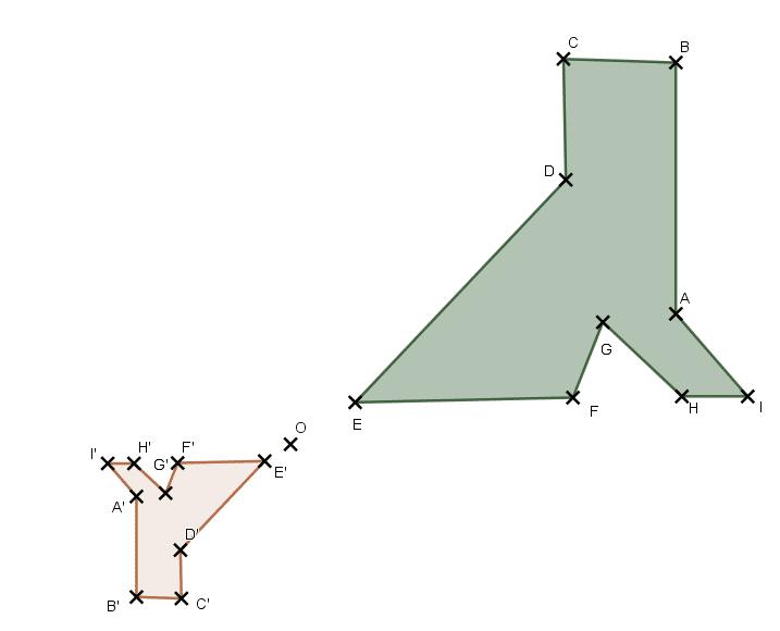 image d'une figure par homothétie