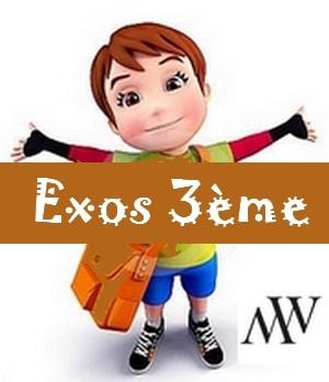 exercices maths 3ème