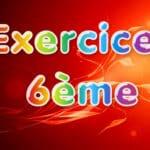 Aire et périmètre : Exercices Maths 6ème corrigés en PDF en sixième.